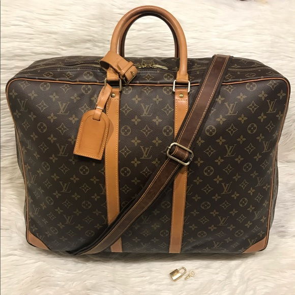 Louis Vuitton Bags   Authentic Sirius 50 Travel Suitcase   Poshmark 601ea1b9b5
